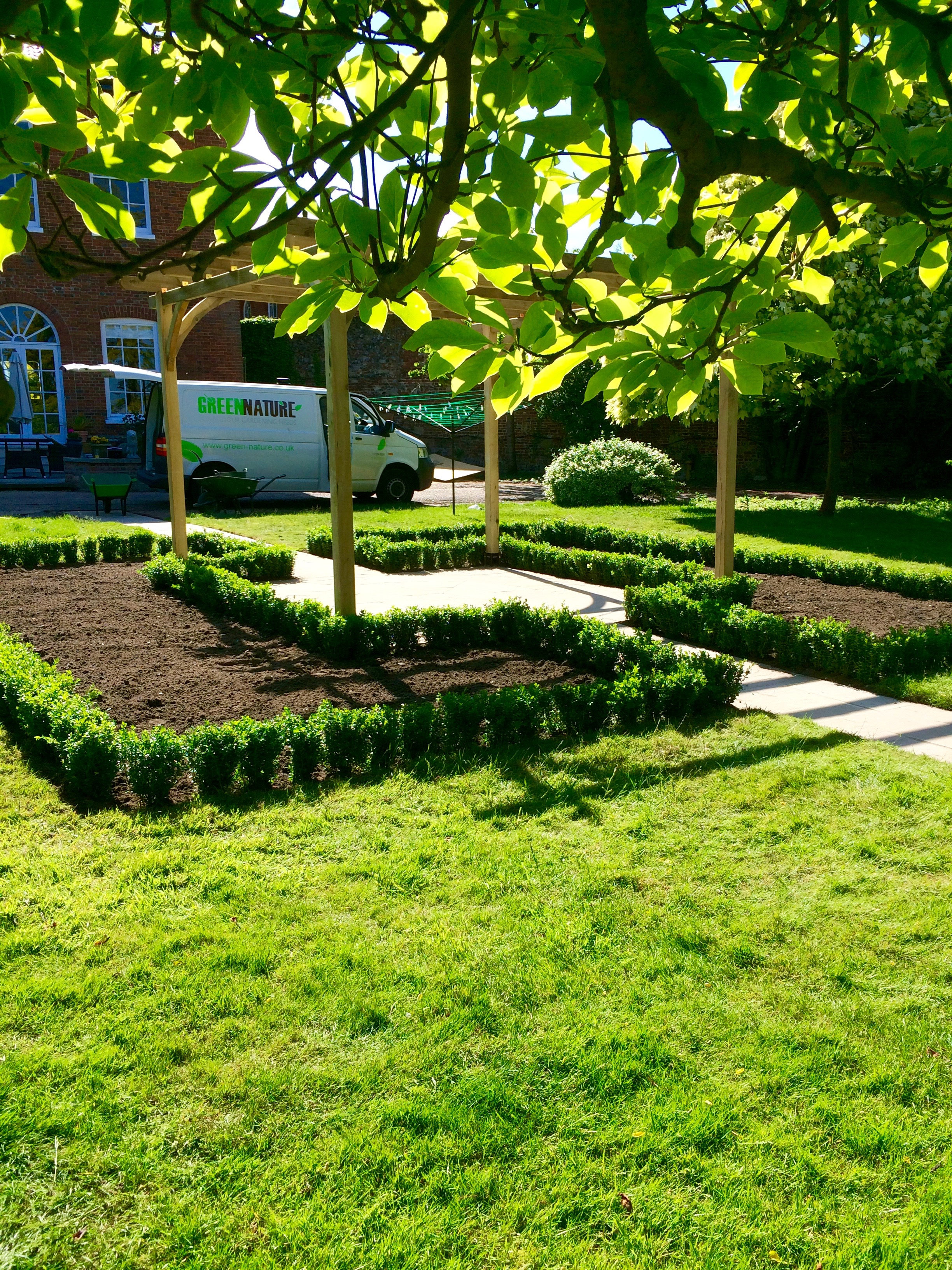 Green nature ltd hard soft garden landscape services for Landscape design suffolk